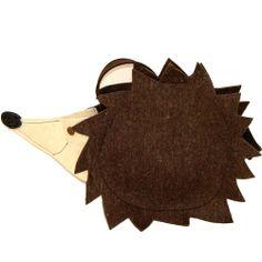 #borsa #shopper #bag #felt #feltro #hedgehog #riccio #handmade #artigianale Riccio / Hedgehog