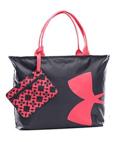 Under Armour Women's Big Logo Tote Bag, Phantom Gray, One Size