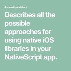 34 Best Nativescript images in 2018   Apps, Mobile app, Mobile