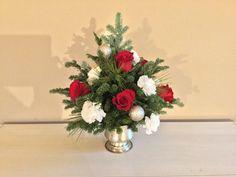 Mini Christmas Tree, Floral Wreath, Vase, Wreaths, Home Decor, Floral Crown, Decoration Home, Door Wreaths, Room Decor