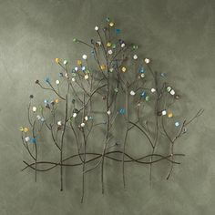 Tree, Floral & Branch Floral and branch wall decor are among the most popular styles of metal wall art. Tree wall decor and floral metal wall art such