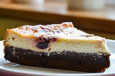 Cheesecake brownie | Mangiare squisito...