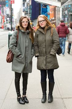 ClearlyContacts.ca Street Style at New York Fashion Week 2013
