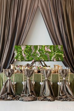WedLuxe– A Living Garden-Inspired Indoor Styled Shoot- Wedding Ideas | Photography by: Jasalyn Thorne Photographers Follow @WedLuxe for more wedding inspiration!