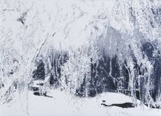 Anya Gallaccio 'White Ice', 2002 © Anya Gallaccio, courtesy Lehmann Maupin Gallery, New York