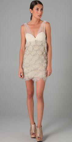 Glitzy in Alice & Olivia Brianne embellished dress: Pretty-look-of-the-dress.jpg