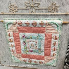 #nestedchurndash with embellishments Longarm Quilting, Gift Certificates, Fabric Patterns, Embellishments, Quilts, Ornaments, Quilt Sets, Decoration, Log Cabin Quilts