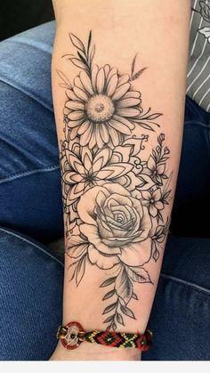 back tattoo for women flowers - tattoo women, flowers You are in the right place about rücken tattoo frauen blumen Tattoo Des - Dream Tattoos, Future Tattoos, Love Tattoos, Body Art Tattoos, New Tattoos, Tattoos For Women, Tatoos, Floral Tattoos, Tattoo Women