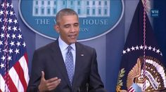 """It is true that behind closed doors I curse more than I do publicly, and sometimes I get mad and frustrated like everybody else does, but at my core, I think we're going to be okay"": Barack Obama in his final press conference as US President.  (Video: The White House)"