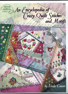 Encyclopedia crazy quilt - Eva Barba Alencar - Picasa Webalbumok