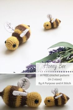 quick and adorable honey been amigurumi pattern with step by step pictures. #amigurumi #crochet #free #pattern #honeybee #summer #quick #easy Crochet Tutorials, Crochet Designs, Crochet Projects, Crochet Gifts, Crochet Toys, Free Crochet, Pattern Ideas, Free Pattern, Crochet Patterns Amigurumi