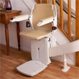 A few years ago one of my son's got paralyzed from the waist down from a car accident. We haven't had the time to rearrange the home to accommodate him yet. It still is hard on me to watch him struggle to get around the home. I want to see if I can get him a stair lift to get him upstairs. This one looks like it bends around the whole staircase, I wonder if they all come like this.