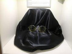 One of John Lennon's pair of glasses. Beatles Museum, John Lennon, The Beatles, Liverpool, Pairs, Glasses, Eyewear, Eyeglasses, Eye Glasses
