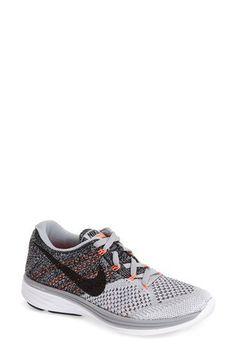 Nike 'Flyknit Lunar 3' Running Shoe (Women)   Nordstrom