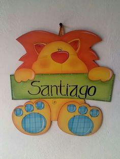 Tomado de la web Foam Crafts, Crafts To Make, Crafts For Kids, Paper Crafts, Diy Crafts, Felt Patterns, Wood Patterns, Baby Shawer, Mom And Baby