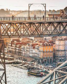TOP Porto ��� Visit Porto, Porto City, Douro, Portugal Travel, City Break, Plein Air, Photos, Pictures, Ciel