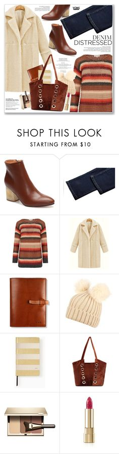 """""""LOVE YOINS"""" by nanawidia ❤ liked on Polyvore featuring Jeff, Kate Spade, Clarins and Dolce&Gabbana"""