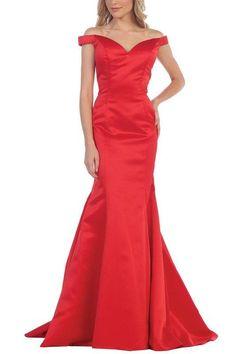 Elegant Satin Mermaid Bridesmaid dress BB 197-125