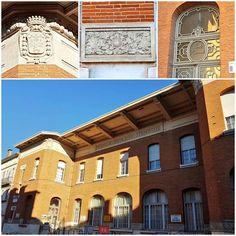 École #Matabiau (30's) & ses #ArmoiriesdeToulouse #Toulouse #ByToulouse #visiteztoulouse #igerstoulouse #toulouse_focus_on #clic_toulouse #mahautegaronne #TourismeHG #tourismeoccitanie #school