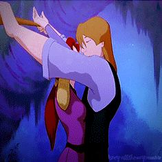Kayley and Garrett Quest for Camelot