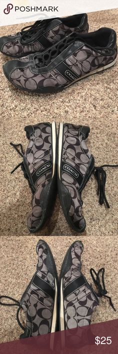 Coach Sneakers Gently used- some signs of wear Coach Shoes Sneakers