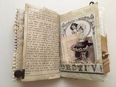 Tsunami Rose Designs: DT Project: Beth Wallen- Vintage Mini Junk Journal using various Ephemera Packs Junk Journal, Bullet Journal, Junk Art, Journal Inspiration, Journal Ideas, Tsunami, Vintage Ephemera, Altered Books, Mini Albums