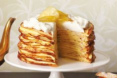 When life gives you lemons... turn them into this decadent lemon crepe cake from Martha Stewart!