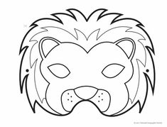 60 Carnival Masks for Print and Color - Free Online Courses , Best Picture For DIY Carnival For Your Taste You are looking for something, and it is goi Diy Carnival, Carnival Makeup, Carnival Masks, Daniel And The Lions, Lion Mask, My Makeup Collection, Real Style, Jungle Animals, Crafting