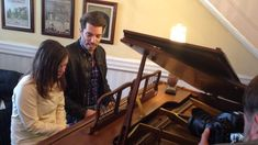 Jonathan Scott's King of the Castle upgrade... This is great..in Britain.. Jon plays piano!! figures...lol
