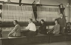 Weaving Workshop at the Dessau Bauhaus (1927)