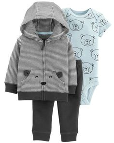 3-Piece Little Jacket Set from Carters.com. Shop clothing & accessories from a trusted name in kids, toddlers, and baby clothes.