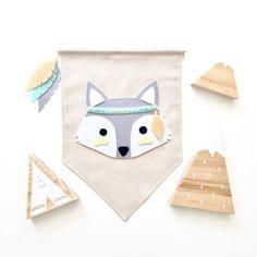 Image of grey fox banner