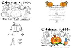 Modest image inside pumpkin patch parable printable