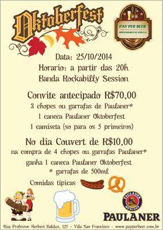 Oktoberfest Vila São Francisco