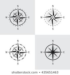 Similar Images, Stock Photos & Vectors of Vector antique compasses with ornate dials for use as design elements in vintage or retro nautical and marine concepts, black and white - 226258699 Mandala Compass Tattoo, Compass Rose, Design Elements, Royalty Free Stock Photos, Black And White, Retro, Antiques, Nautical, Vectors