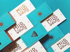 nae-design:  Another fine stationery design by ODDDS studio