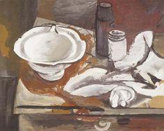 * Stilleben mit Schüssel [Still life with bowl] Manfred Böttcher (1933-2001)