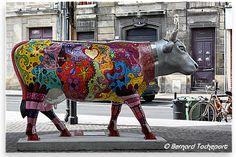 N°45 - Nat Et Cow - place Marché des Chartrons Artiste Nathalie Kaïd - Propriétaire SV Et CO
