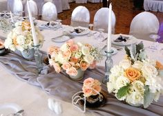 Tablescapes, Wedding Reception, Table Settings, Table Decorations, Marriage Reception, Table Scapes, Wedding Receiving Line, Place Settings, Wedding Reception Ideas