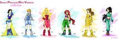 Disney Princess RPG by ~Mirian on deviantART - LOVE Belle's look here! <3