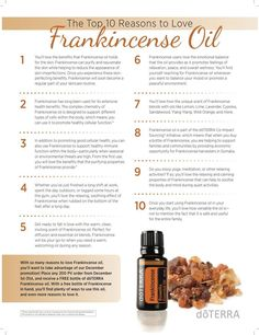 10 reasons to love Frankincense essential oil. Doterra Frankincense Essential oil uses. Ways to use Frankincense oil. Benefits and uses of Frankincense essential oil. Frankincense Essential Oil Uses, Frankincense Benefits, Essential Oils For Pain, Essential Oil Perfume, Doterra Essential Oils, Doterra Frankincense, Bergamot Essential Oil, Edens Garden Essential Oils, Cleaning Tips