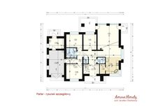 Projekt domu Wiesiołek II, wizualizacja 3 House Entrance, Ground Floor, 1, Floor Plans, House Design, Mansions, How To Plan, Ideas, Home
