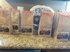 Duck Dynasty party bags - uploaded by user. No link - just a photo!