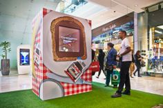Nutella experiential marketing at Westfield shopping centre #experientialmarketing
