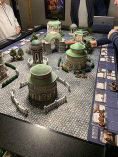 Tonight's battle for Theed - SWlegion Game Terrain, 40k Terrain, Star Wars Figurines, Imperial Assault, Star Wars Rpg, Wargaming Terrain, X Wing, Table Games, Board Games