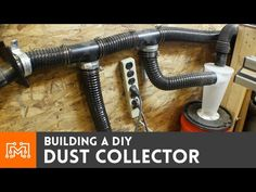 Have you ever done a big mess while working in your workshop? If the answer is yes you probably will want to build this dust collector to help you keep your place tidy.