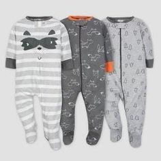 Safari Theme Sleeper 0-3 Months New Gerber Neutral Sleep /'n Play