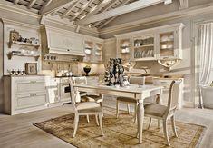 дневник дизайнера: Великолепный интерьер кухни в классическом стиле Arcari. Безупречный вкус!