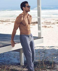 David Gandy for Marks and Spencer Autograph Beachwear 2016.