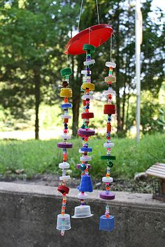 how to make a wind vane out of recycled materials